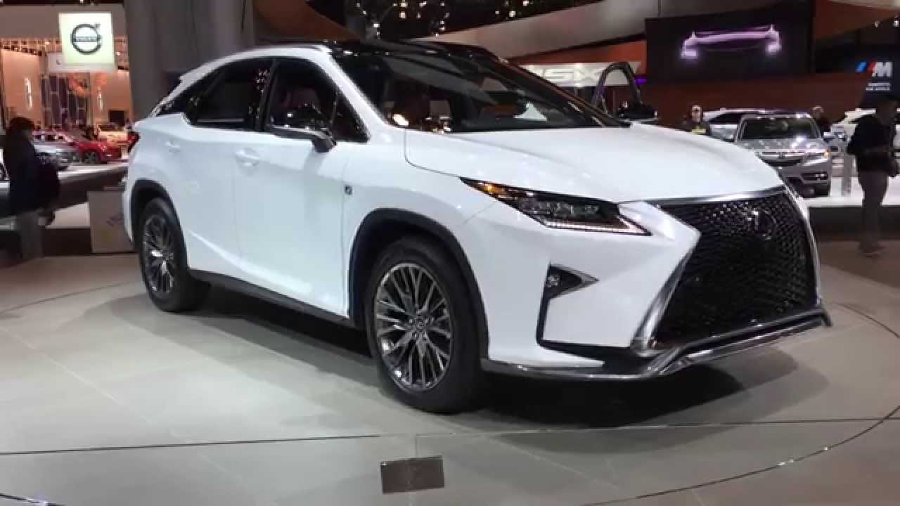 The new 2016 Lexus RX 350 F Sports 360 view from New York Auto Show - YouTube