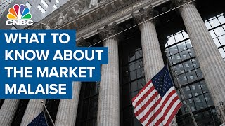 What investors need to know about the market malaise