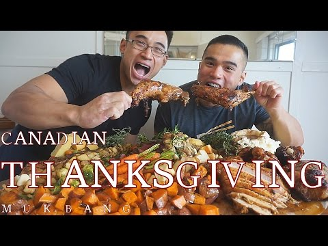 QT| CANADIAN THANKSGIVING | MUKBANG