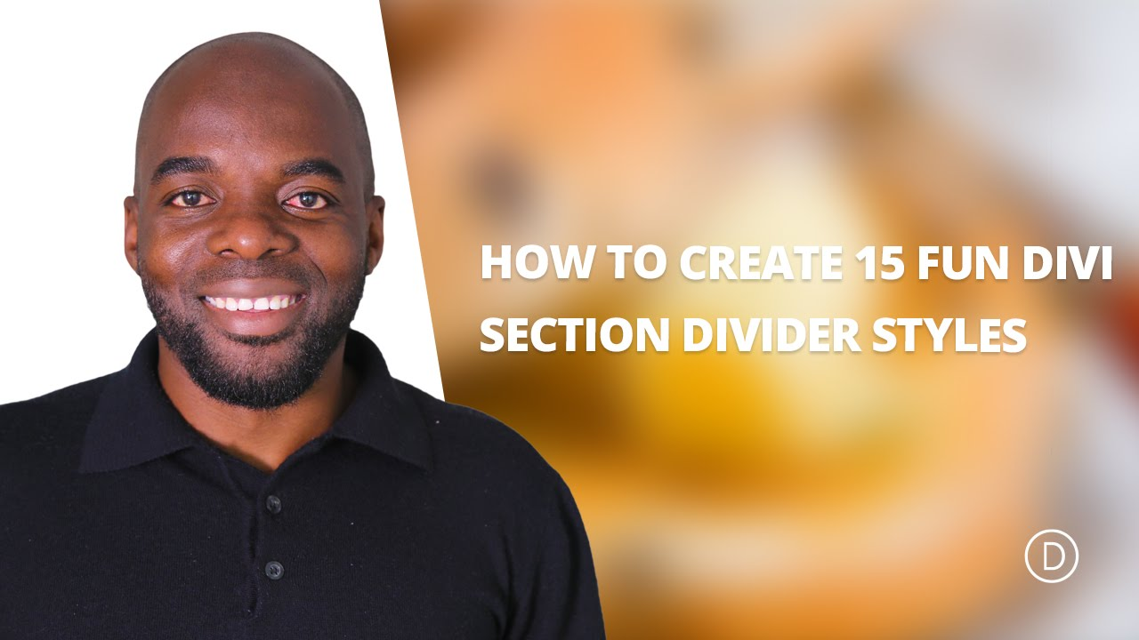 How to create 15 fun divi section divider styles youtube - Divi section divider styles ...