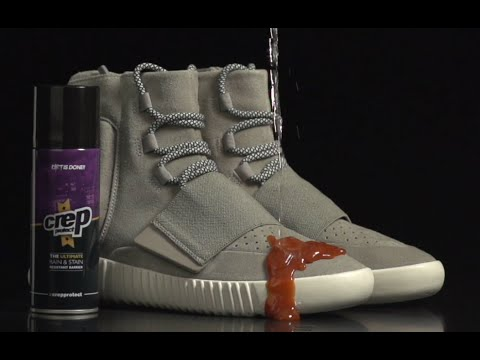 adidas yeezy boost x crep protect vs ketchup youtube