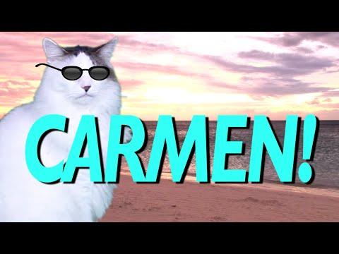 Happy birthday carmen epic cat happy birthday song - Happy birthday carmen images ...