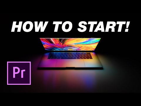 Adobe Premiere Pro Tutorial: How To Start For Beginners