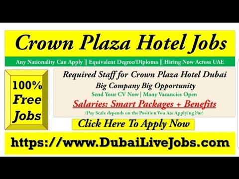 Crow Plaza Hotel Jobs In Dubai | Apply Today