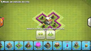 Layout Cv6 | Anti - Gigante | Anti Balão [Th 6 - War Base] - CoC