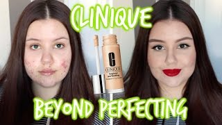 First Impressions | Clinique Beyond Perfecting Foundation (Oily/Acne)