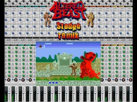 Altered Beast Main Theme Stodge Remix Youtube