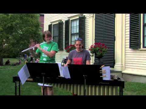 Rachel & Maria - Kembang Suling: Three Musical Snapshots of Asia, for flute & marimba