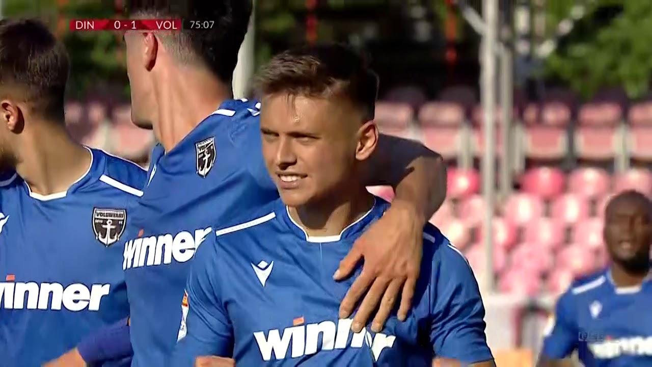 Динамо Бухарест  0-1  Волунтари видео