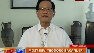 NTG: Panayam kay Most Rev. Teodoro Bacani, Jr., Bishop Emeritus, Novaliches