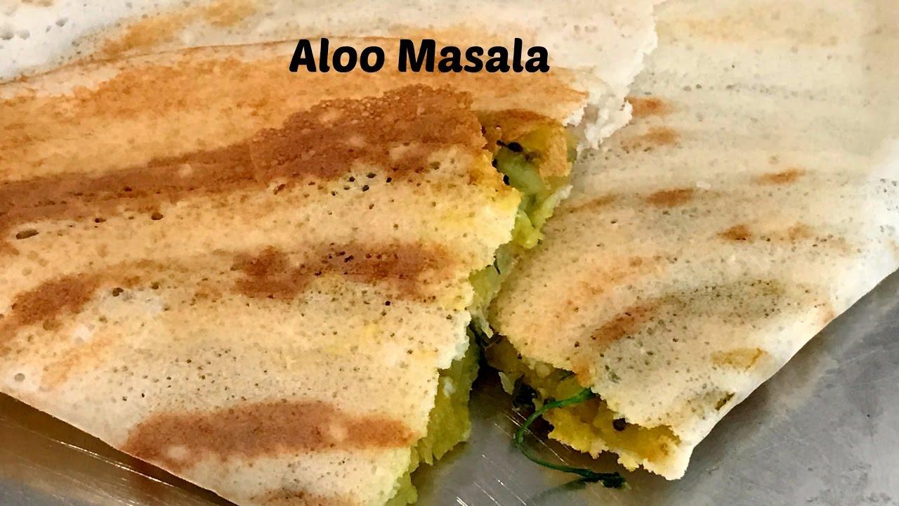 Potato curry recipe for masala dosa aloo bhaji for masala dosa