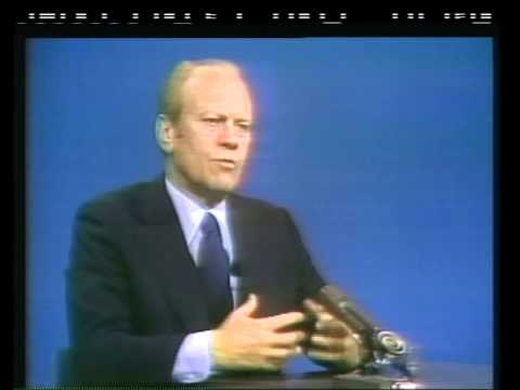 Pres. Ford talks Reagan on Face the Nation