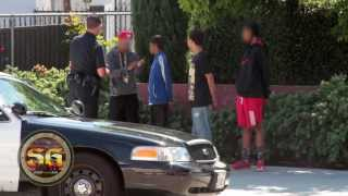 Does the Los Angeles Police Department use stop and frisk in minority communities?