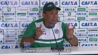 Hélio dos Anjos fala sobre empate contra o Ceará no Estádio Serra Dourada