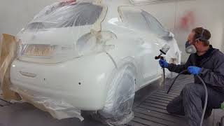 Painting a car with standox!