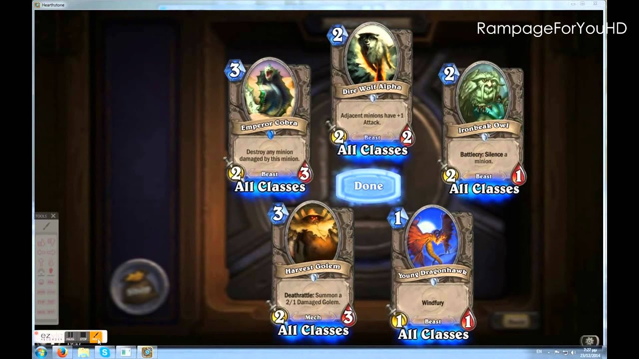 how to use a free card pack key for hearthstone 1 hd youtube. Black Bedroom Furniture Sets. Home Design Ideas