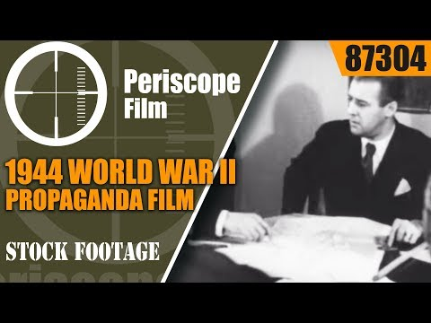 1944 WORLD WAR II PROPAGANDA FILM  ALEUTIAN ISLANDS & PACIFIC CAMPAIGN 87304