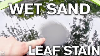 How to Wet Sand a Water Mark in Black Paint