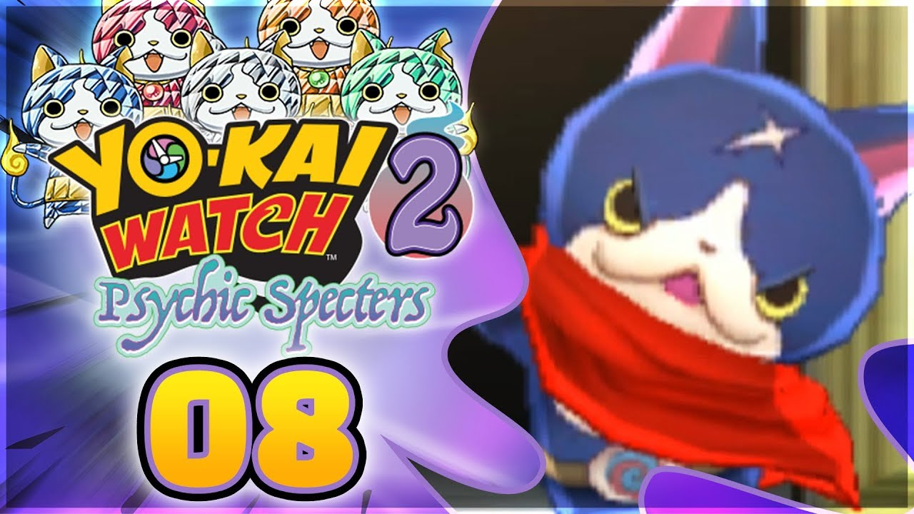Yo-kai Watch 2 Psychic Specters - Meganyan   Hovernyan!  Episode 8  408deadd51