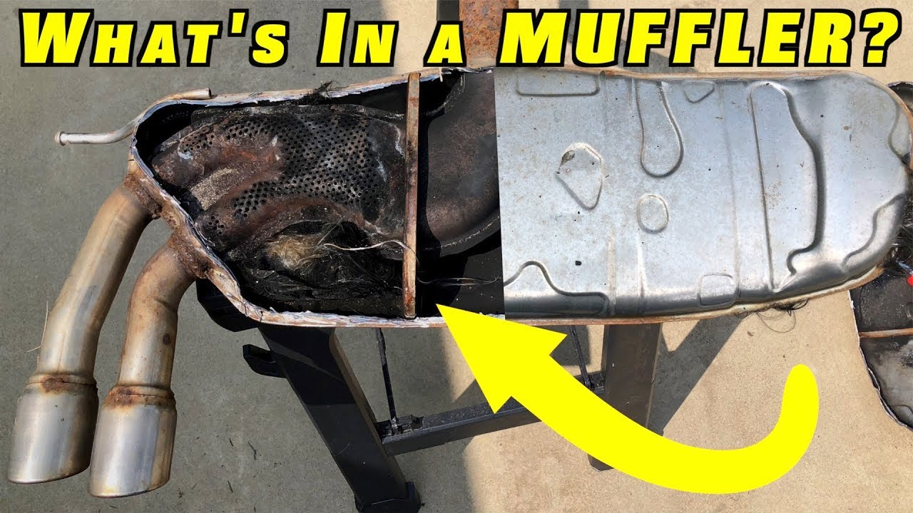What Is A Cadillac Converter >> What Is Inside A Car S Muffler And Catalytic Converter