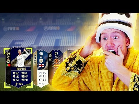 LUCKIEST TOTY PACK OPENING OF MY LIFE TOTY + ICON IN A PACK FIFA 18