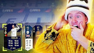 LUCKIEST TOTY PACK OPENING OF MY LIFE! TOTY + ICON IN A PACK! FIFA 18