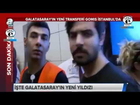 Galatasaray Transfer   Galatasaray'ın ilk transferi Bafetimbi Gomis İstanbul'da