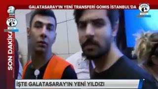Galatasaray Transfer | Galatasaray'ın ilk transferi Bafetimbi Gomis İstanbul'da Muhteşem K