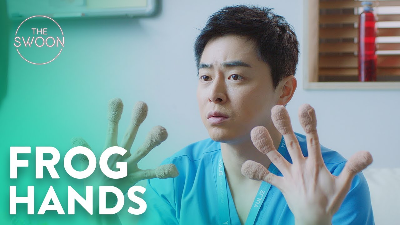 Download Jeon Mi-do turns Cho Jung-seok into a frog | Hospital Playlist Ep 8 [ENG SUB]