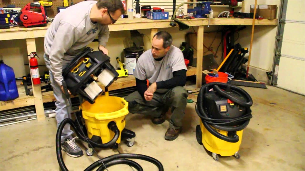 140bb80c5fc7 DeWALT DWV012 10 Gallon Dust Extractor with Automatic Filter Clean - Review