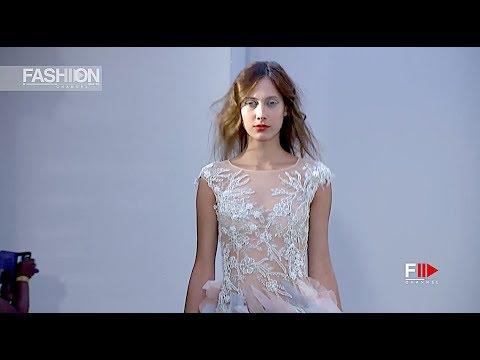 J by JORDY FU Arab Fashion Week Resort 2019 Dubai - Fashion Channel