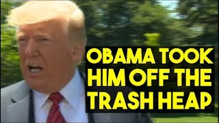 Trump Savages Biden On The White House Lawn