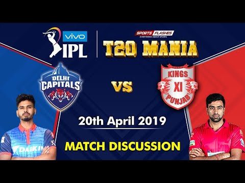 Delhi vs Punjab T20 | Live Scores and Analysis (English) | IPL 2019