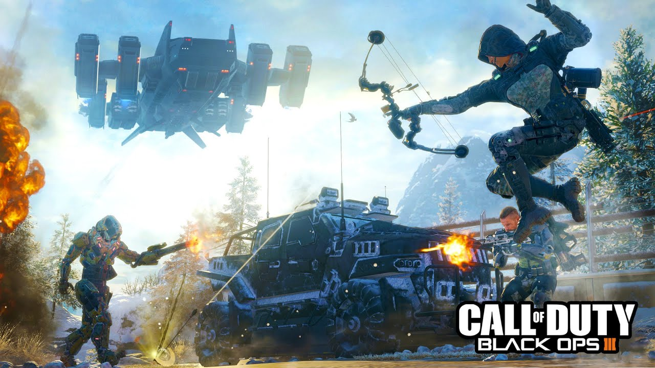 Call Of Duty Black Ops 3 Hd Wallpapers: Multiplayer BETA Gameplay LIVE