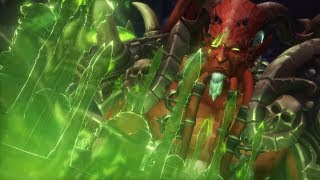 World of warcraft Legion: Кил джеден героик убийство рандом составом
