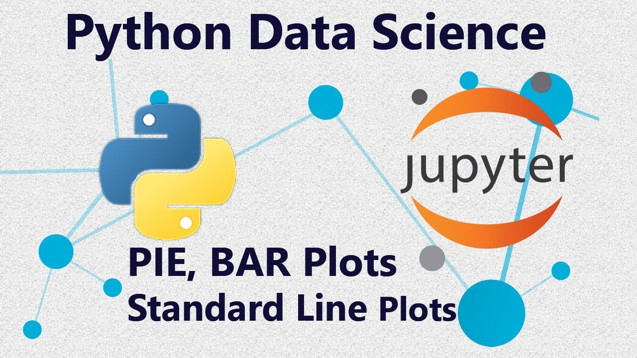 Line Plots, Bar Plots and Pie Plots Using Seaborn in Python : Tutorial 6 in  Jupyter Notebooks