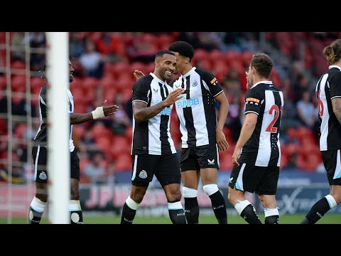 Doncaster Rovers 2 Newcastle United 3 |  Highlights of the preseason friendlies