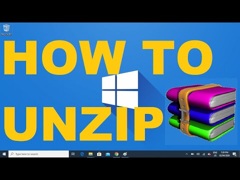 Windows 10 How To Unzip A File Using Winrar