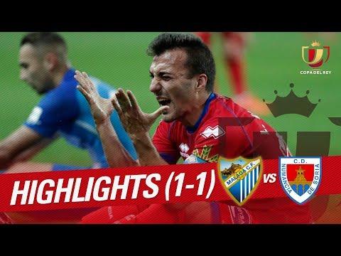 Resumen de Málaga CF vs CD Numancia (1-1)
