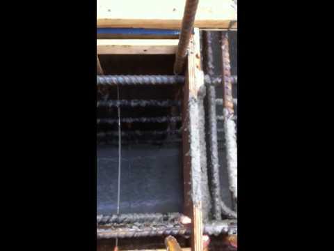 Fast flowing agilia concrete mix