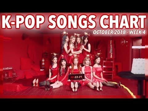 K-POP SONGS CHART | OCTOBER 2018 (WEEK 4) Mp3