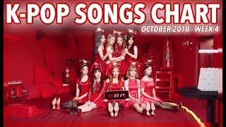 K-POP SONGS CHART   OCTOBER 2018 (WEEK 4)