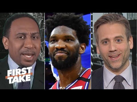 Stephen A. and Max have very different reactions to the 76ers beating the Clippers   First Take