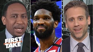 Stephen A. and Max have very different reactions to the 76ers beating the Clippers | First Take