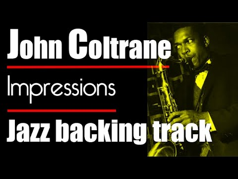 Impressions - Piano backing track - Modal jazz - John Coltrane