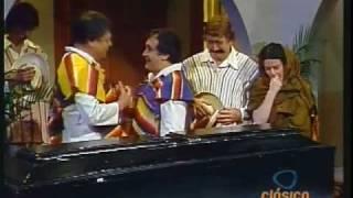 El Indio Maclovio con El Muertito con Luis de Alba