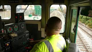 Waste Management tour and USWX 400 cab ride