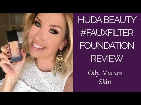 Huda Beauty Faux Filter Foundation Review| FAB or FAIL????