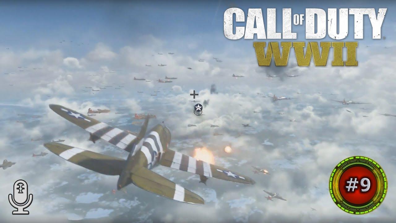 ÉGI HÁBORÚ! – Call of Duty WW2 Végigjátszás #9 Hardened