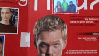 CBS Embeds Video Player in Entertainment Weekly Magazine